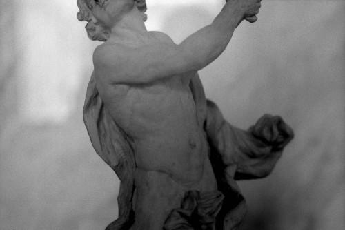 Ercole Ferrata, Homme se poignardant (Rome, vers 1690), Musée du Louvre, Paris 1er.