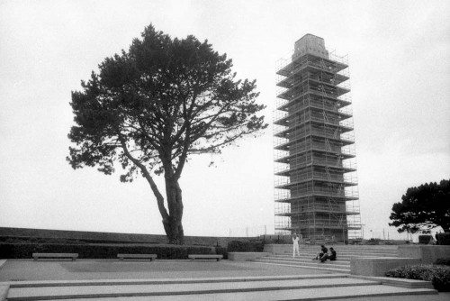 Monument américain, cours Cajot, Brest (Finistère).