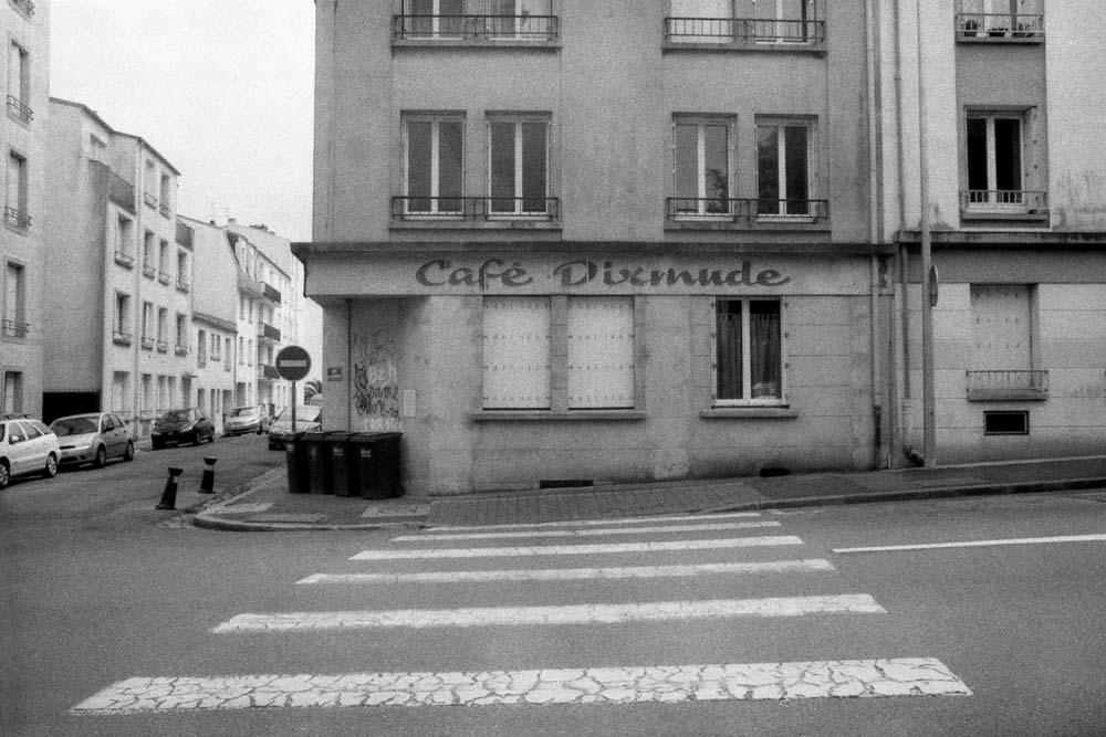 Rue de l'Église, Brest (Finistère).