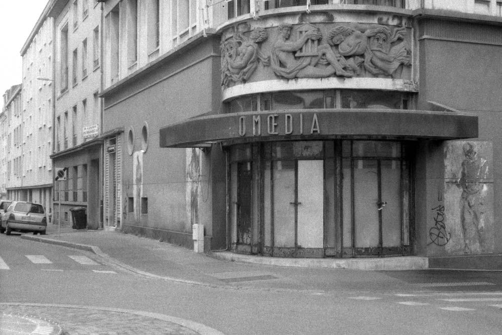 Rues du Château et de l'Aiguillon, Brest (Finistère).