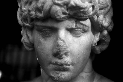 Antinoüs (130-138 ap. J.-C.), Centrale Montemartini, Rome (Italie).