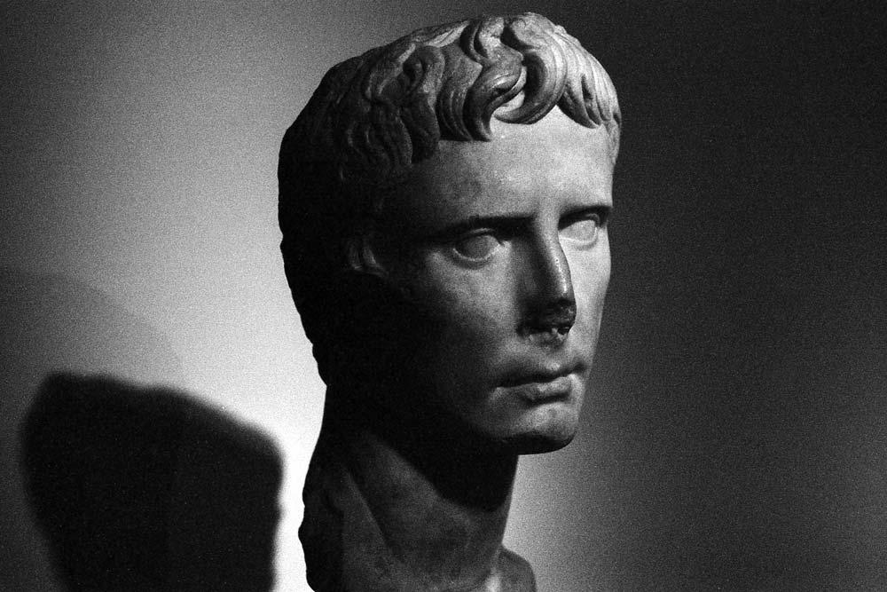 Auguste (buste de 27-20 avant J.-C.), Centrale Montemartini, Rome (Italie).