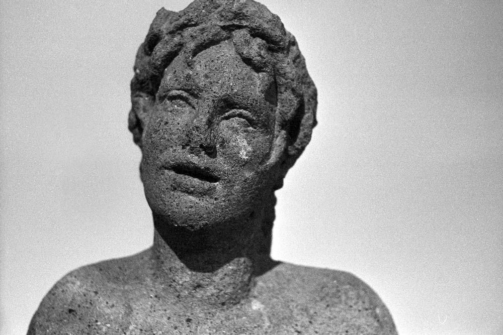 Orfeo, IIe siècle avant J.-C. (découvert dans la Via Tiburtina en 1878), Centrale Montemartini, Rome (Italie).