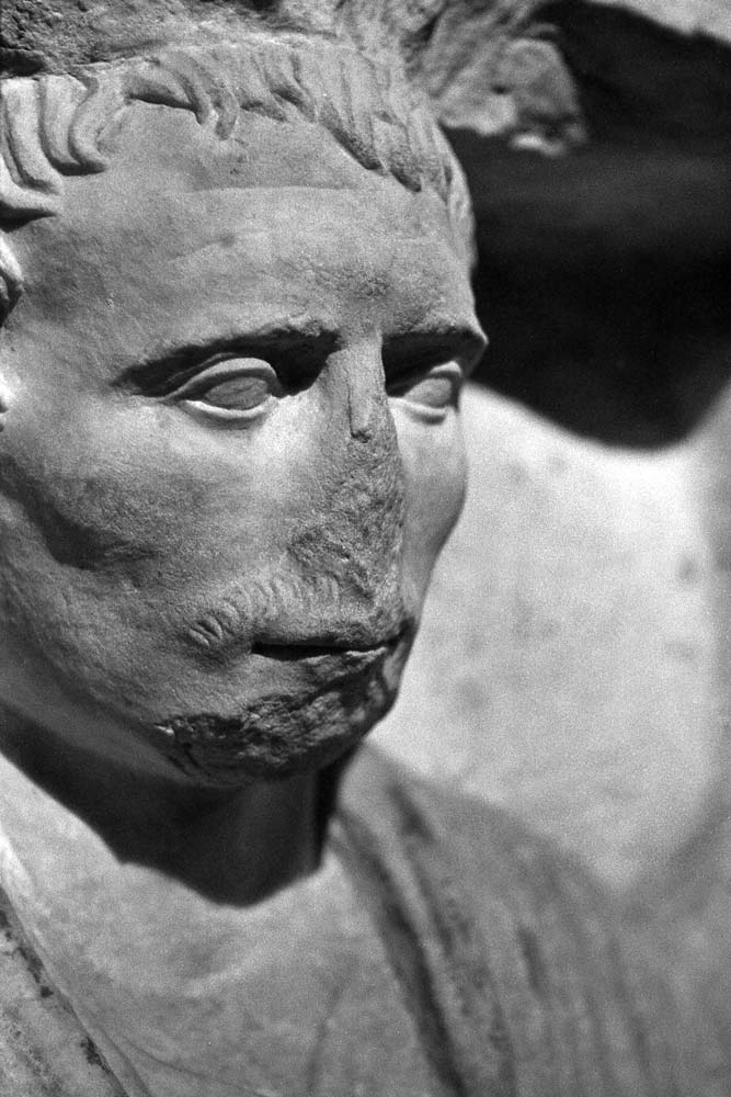 Rilievo funerario, fin du Ier siècle avant J.-C., Centrale Montemartini, Rome (Italie).
