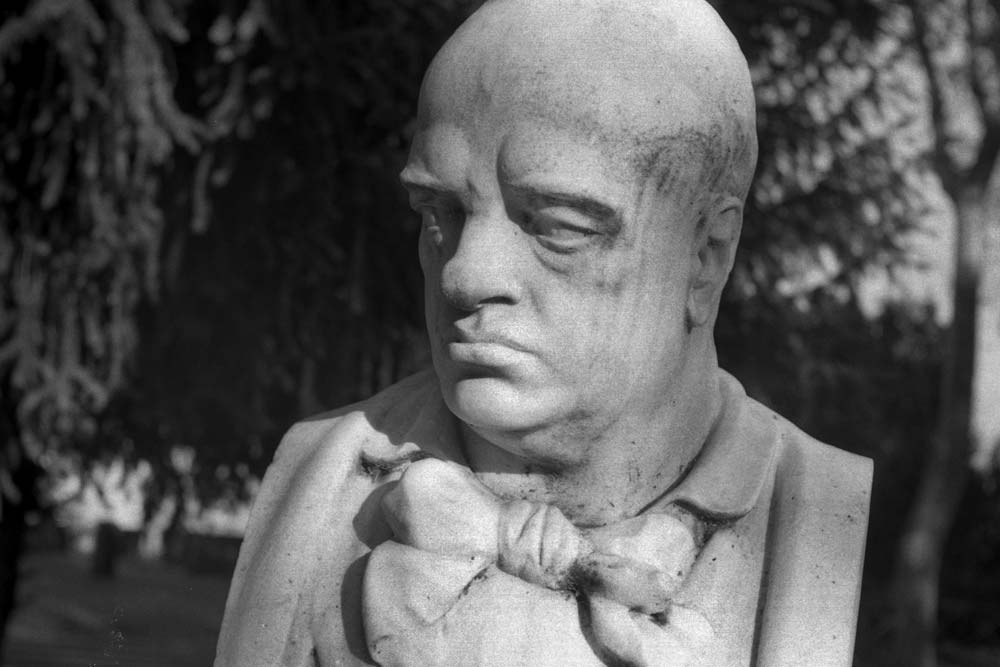 Gustavo Modena, Passeggiata del Gianicolo, Rome (Italie).