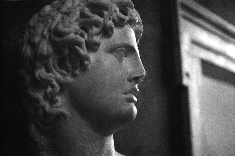 Alcibiade, sala delle Oche, Musei Capitolini, Rome (Italie).