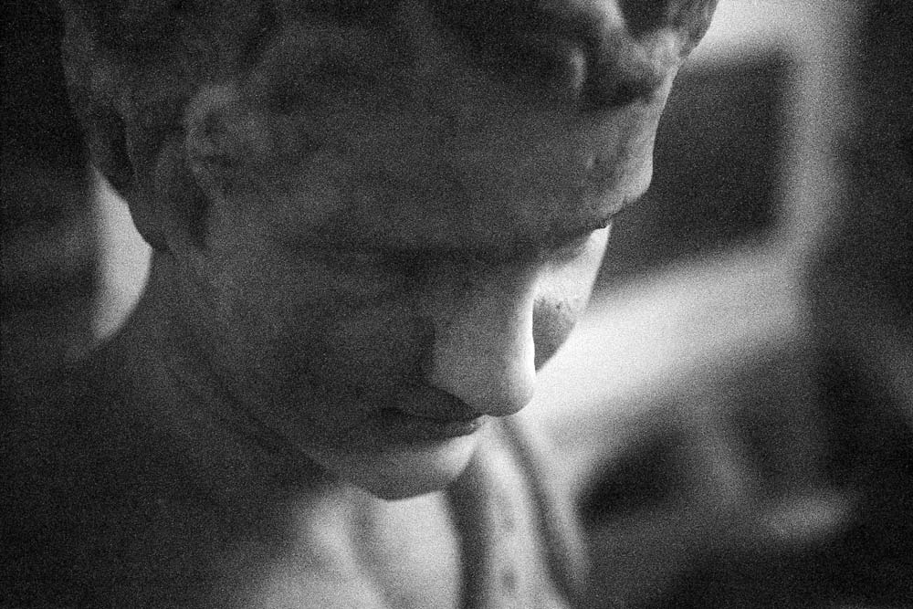 Jeune satyre (Giovane satiro), Musei Capitolini, Rome (Italie).
