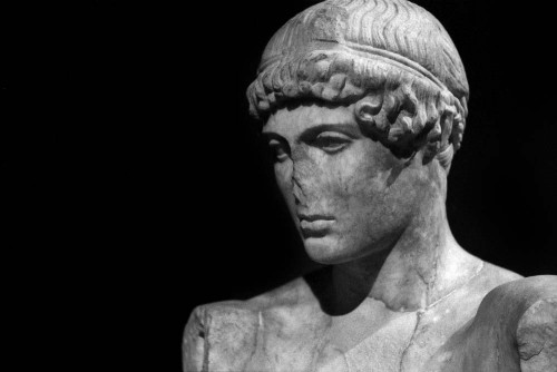 Gruppo scultoreo dell'Auriga, Musei Capitolini, Rome (Italie).