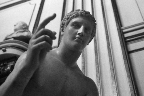 Hermès, Musei Capitolini, Rome (Italie).