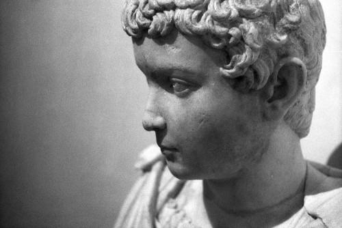 Portrait de jeune garçon provenant de l'Esquilin (Ritratto di fanciullo dall'Esquilino), Musei Capitolini, Rome (Italie).