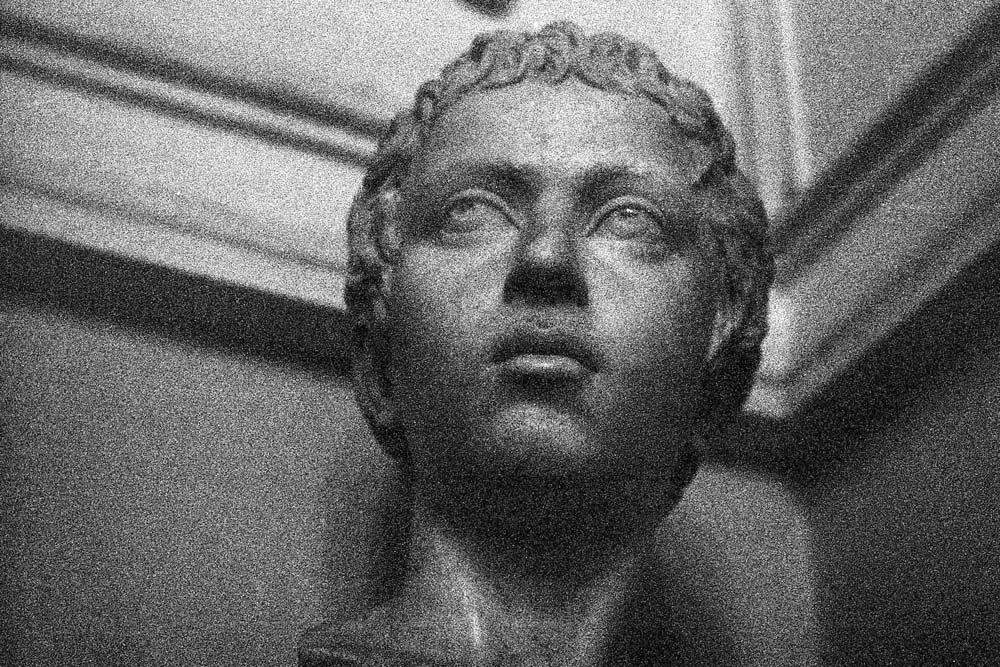 Portrait de jeune prince (Ritratto di giovane principe), Musei Capitolini, Rome (Italie).