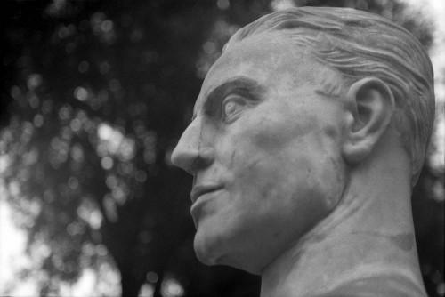 Giovanni Randaccio, Viale di Villa Medici (Villa Borghèse), Rome (Italie).