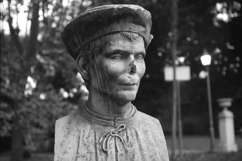 Niccolò Machiavelli, Viale di Villa Medici (Villa Borghèse), Rome (Italie).
