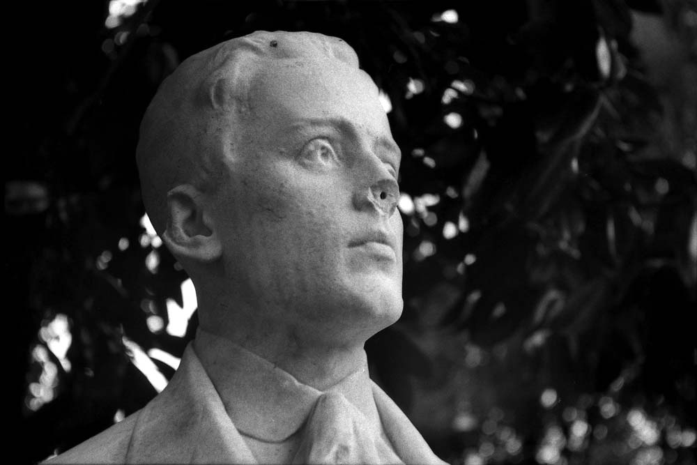 Filippo Corridoni, piazzale dei Martiri, villa Borghèse, Rome (Italie).