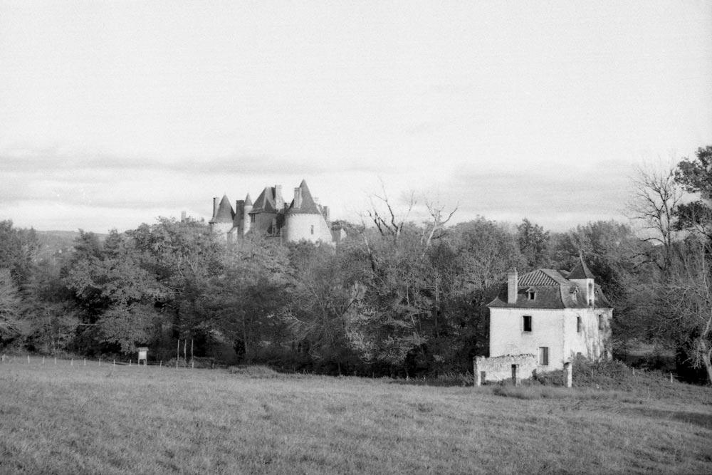 Montal vu du côté de Revery, Saint-Jean-Lespinasse (Lot).