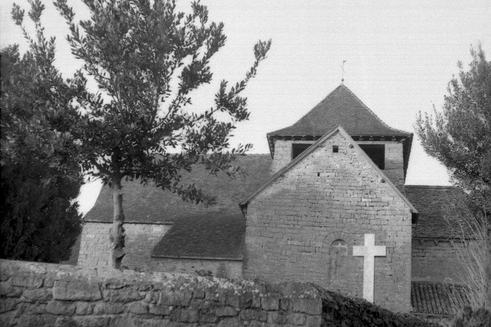 Église Saint-Jean-Baptiste, Saint-Jean-Lespinasse (Lot).