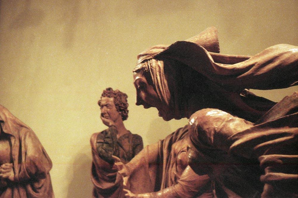 Niccolò dell'Arca, Compianto sul Cristo morto, église Santa Maria della Vita, Bologne (Italie).