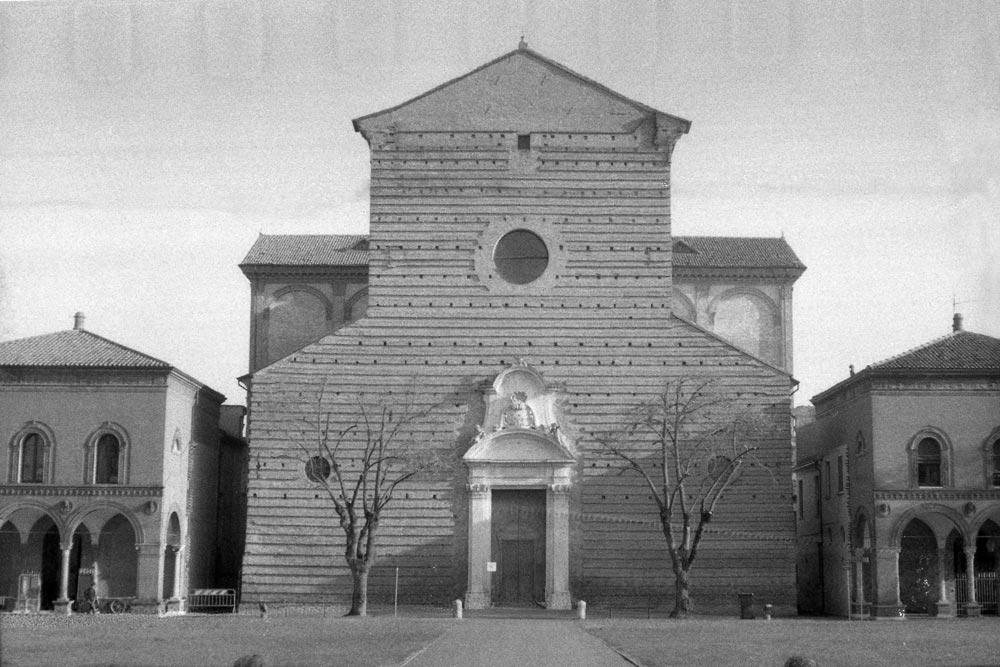 Chiesa di San Cristoforo alla Certosa, Ferrare (Italie).