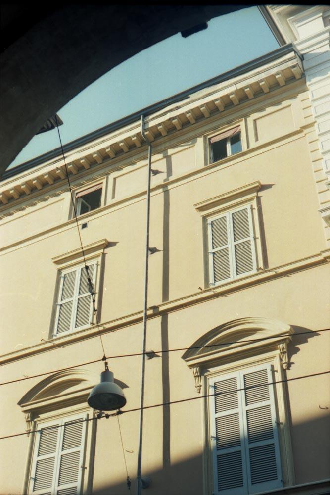 Via Galliera, Bologne (Italie).