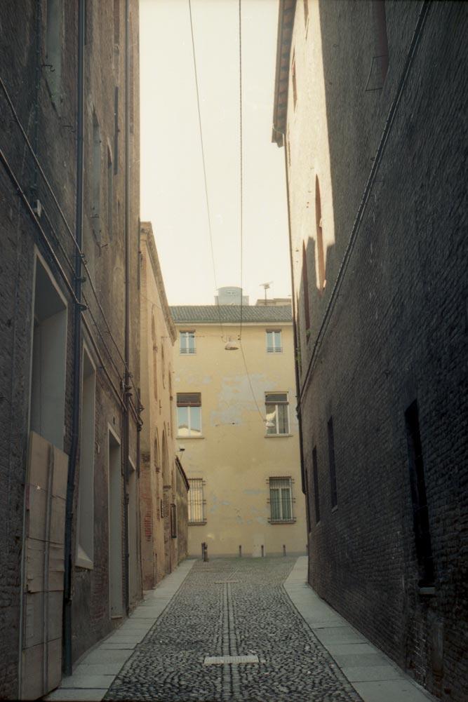 Via Porta di Castello, Bologne (Italie).