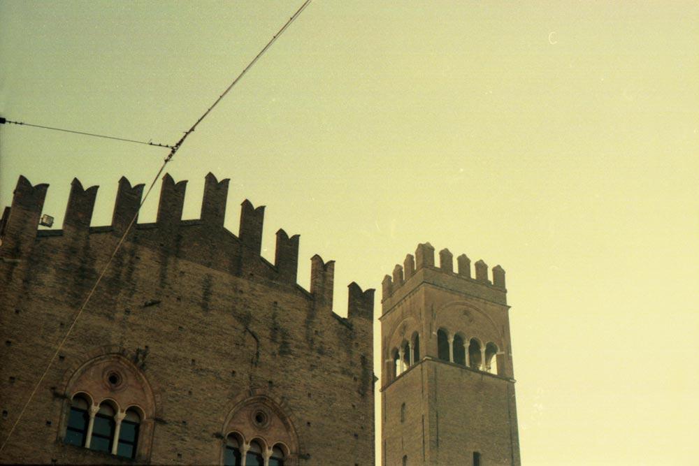 Piazza del Nettuno, Bologne (Italie).