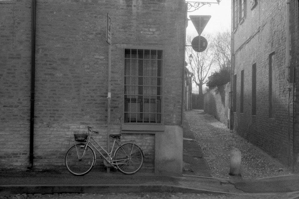 Via Beatrice II d'Este, Ferrare (Italie).