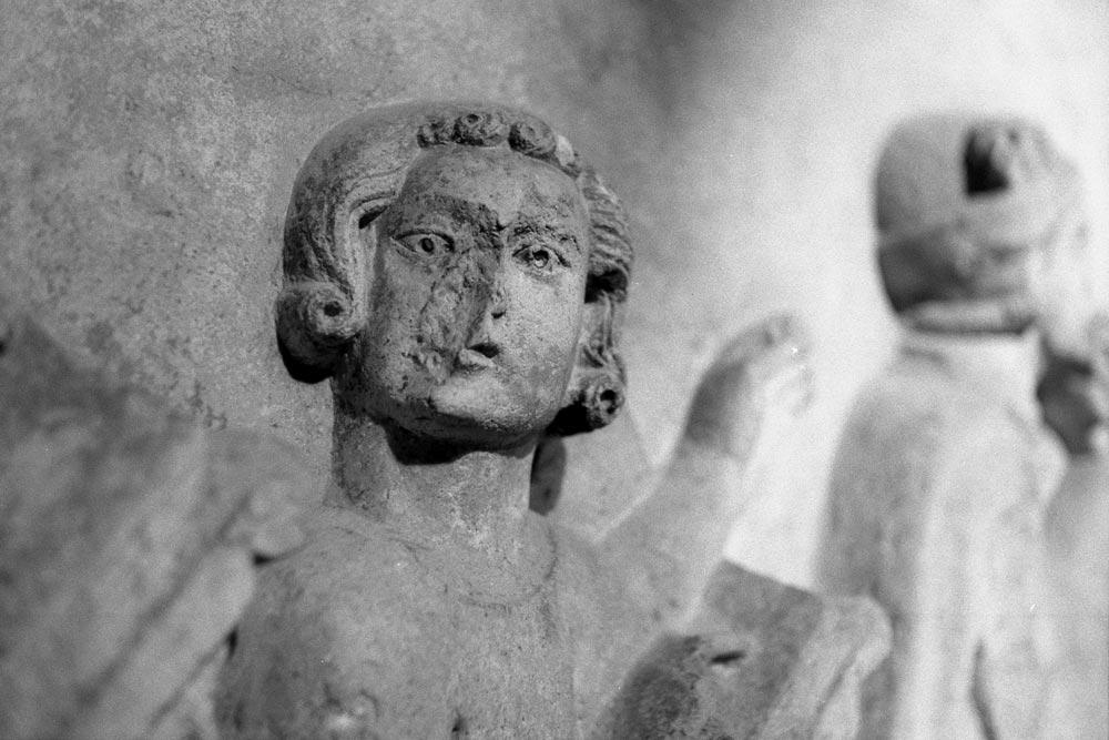 Sepolcro di Matteo Gandoni (XIVe siècle), Museo medievale, Bologne (Italie).