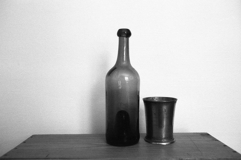 Hommage à Giorgio Morandi, à la maison, Paris.