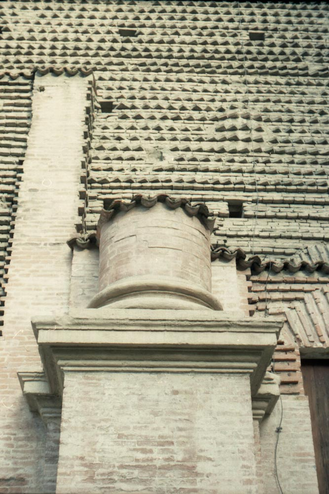 Église Santa Lucia, via Castiglione, Bologne (Italie).