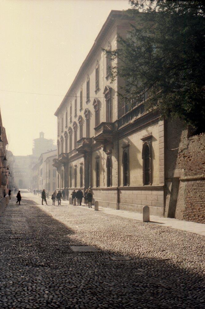 Corso Ercole I d'Este, Ferrare (Italie).